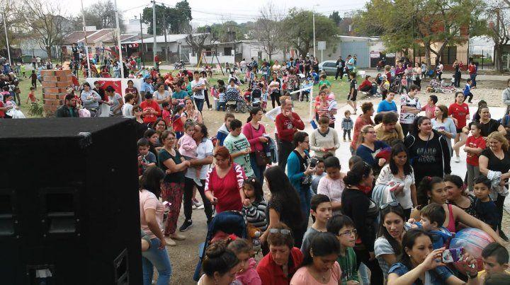 Imágenes de la edición 2018 del Día del Niño en la plaza del barrio López Jordán