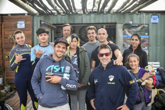 Les integrantes de la Escuela SUP Paraná.