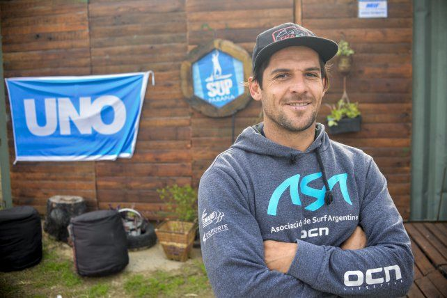 Pancho Giusti agradeció el aval de UNO para la competencia.