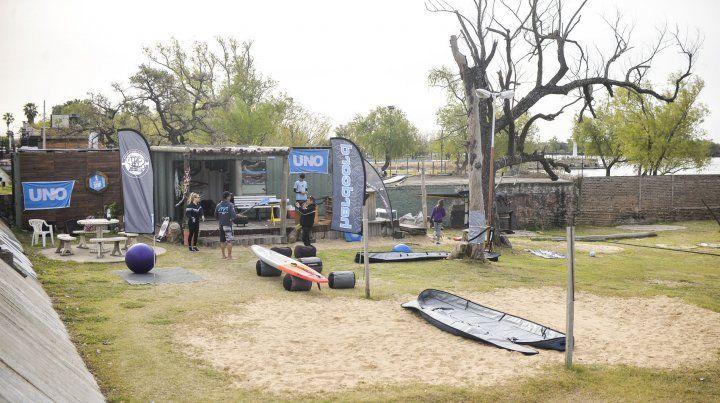 Todo listo para la Villa Urquiza Paraná SUP Race