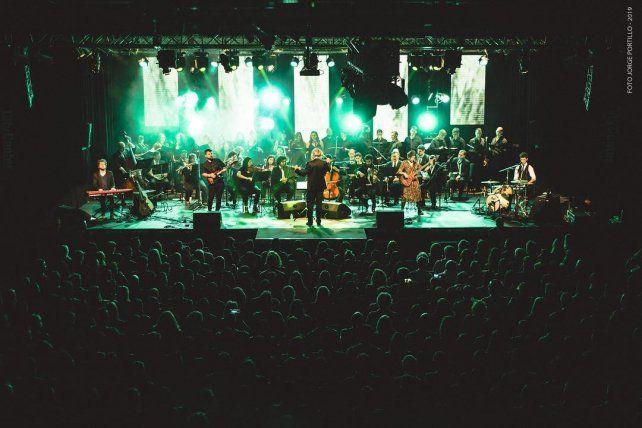 Música Para Volar vuelve a Paraná con un homenaje sinfónico a Charly García