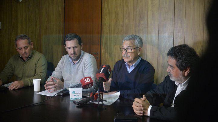 Conferencia. Buses Paraná se refirió a la crisis del sistema pero evitaron abordar su propia gestión.