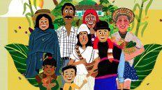 Comunidad. Nos enfocamos en la relación del ser humano con la Pachamama.