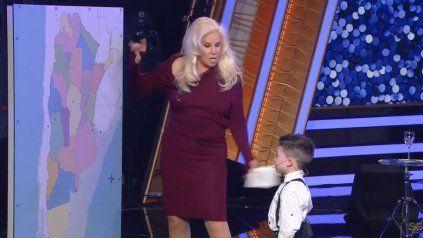 Niño de cinco años puso en aprietos a Susana