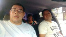 Lucha. No sé cuántos años vamos a durar, confesó Adrián Cardozo –a la derecha–. Con su hermano Eduardo, fueron contagiados de Hepatitis C.