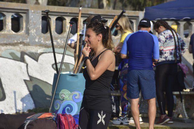 La Villa Urquiza Paraná SUP Race fue muy dura por el viento