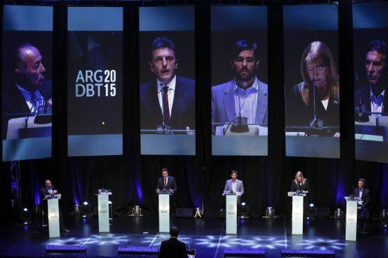 El segundo debate entre candidatos a la Rosada será el 20 de octubre