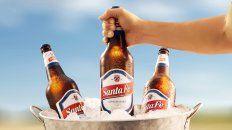 cerveza santa fe, medalla de oro a la calidad en certamen mundial