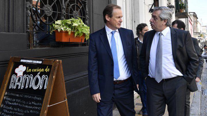 Bordet y Alberto Fernández mostraron su optimismo sobre el futuro del país