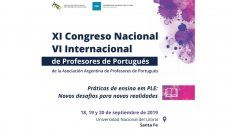 profesores de portugues se reuniran en un congreso internacional en santa fe