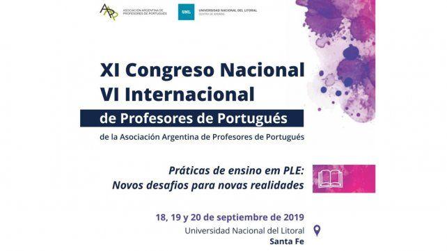 Profesores de portugués se reunirán en un Congreso Nacional e Internacional en Santa Fe
