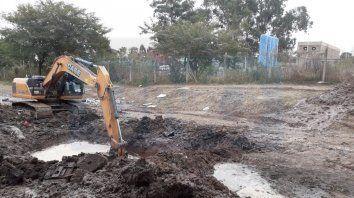 parana: nuevo corte de agua por la reparacion de un conducto