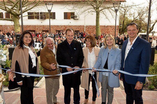 Bordet inauguró el Museo Provincial Hogar Escuela Eva Perón de Paraná