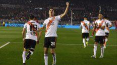 Nacho Fernández, marcó el primer tanto.