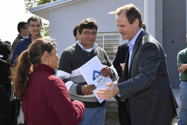Bordet afirmó que se profundizará la política de construcción de viviendas