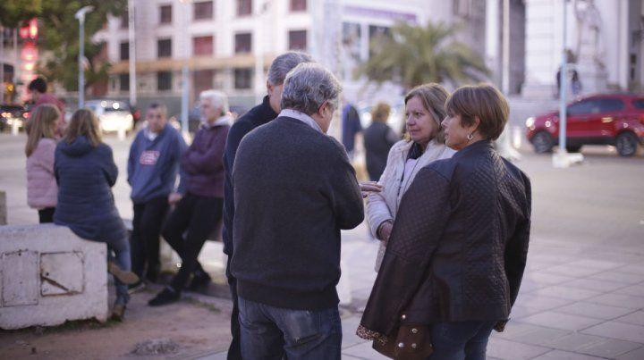 En Paraná también hubo una manifestaciones a favor de Mauricio Macri