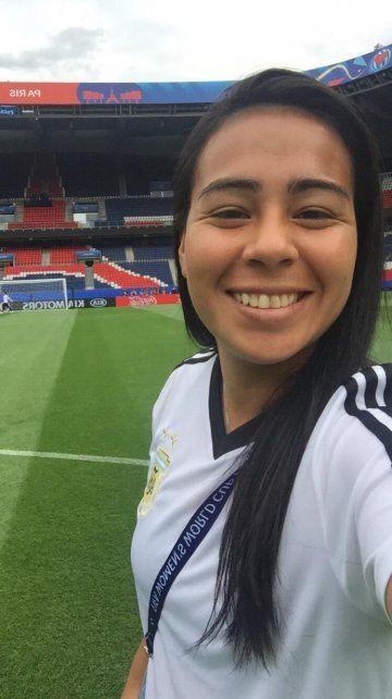 Yael Oviedo, la entrerriana que hizo historia en el fútbol