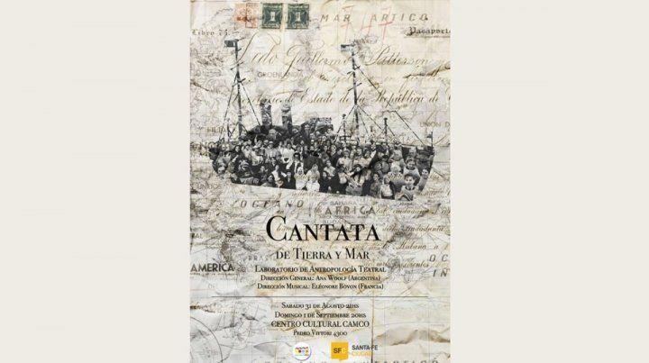 Cantata de tierra y mar» en el CAMCO