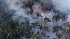 el humo proveniente del amazona ya cubre gran parte de entre rios