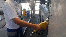 se derrumbo el consumo de naftas y gasoil