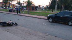 motociclista murio al chocar contra una camioneta estacionada