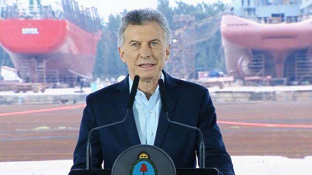 Macri: Como presidente me hago cargo de lo que está ocurriendo