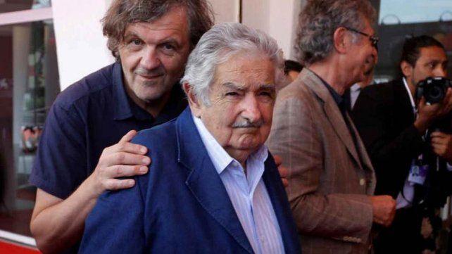 Antiestrellas. El cineasta y el dirigente político hicieron amistad.