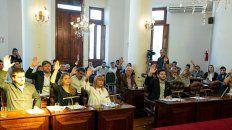 proponen declarar la emergencia economica en la municipalidad de parana