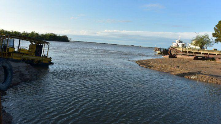 El río Paraná sigue bajando y se ubicó en 1,74 metros