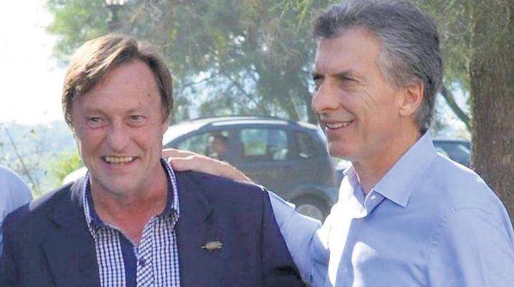 Cambiemos. El intendente Sergio Varisco y el presidente Mauricio Macri.