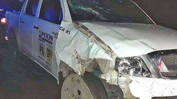 Investigación. El conductor de la camioneta quedó a disposición de fiscalía hasta que culminaron las pericias.