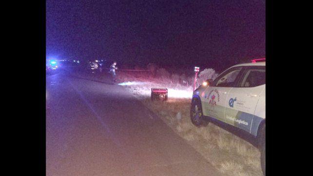 Murió un motociclista al chocar con una camioneta en la ruta 32