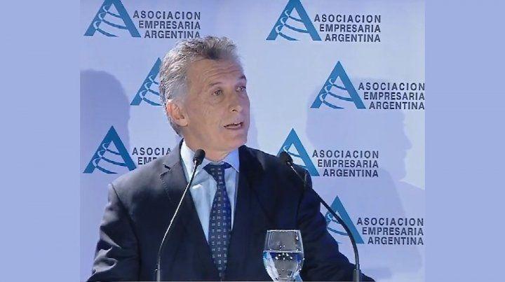 Macri habló de las medidas económicas ante empresarios