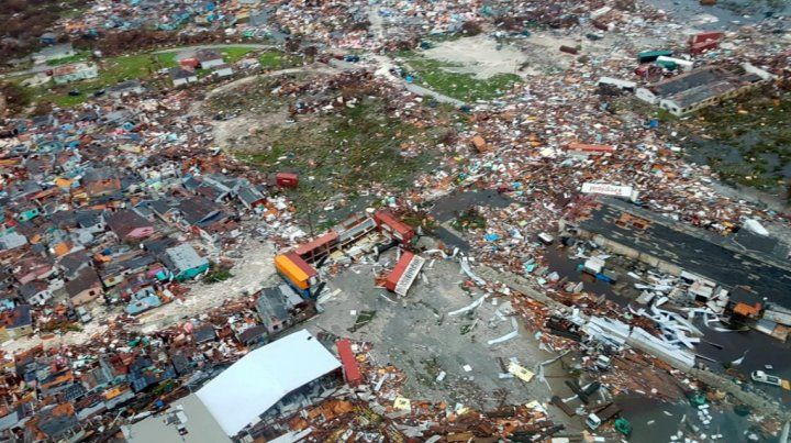 Así quedaron las Bahamas tras el paso del huracán Dorian