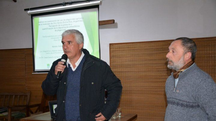 El intendente José Luis Dumé invitó a continuar con los encuentros para buscar soluciones.