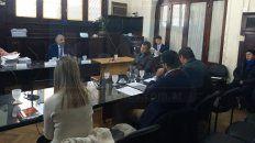 Condenado. Burdino admitió los cargos por lo que aceptó la pena. Foto: Javier Aragón