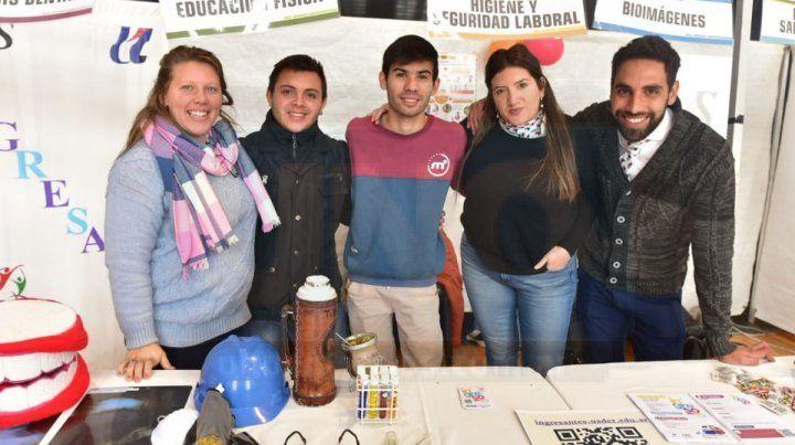 Feria de las carreras de Uader se mostró en la Vieja Usina