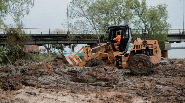 Continúan los trabajos en la Toma Nueva para garantizar el suministro de agua