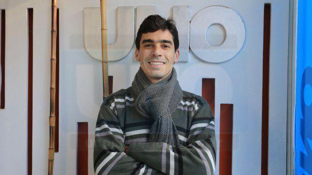 En UNO. El paranaense Nahuel Ramos pasó por la Redacción y contó lo que fue una prueba que jamás olvidará. Fue fuera del país
