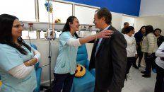 reconocimiento. Bordet elogió el desempeño de los trabajadores de salud en áreas tan sensibles.