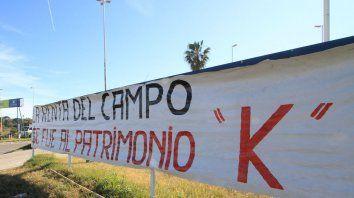 En julio de 2015 los productores protestaron en el Túnel.