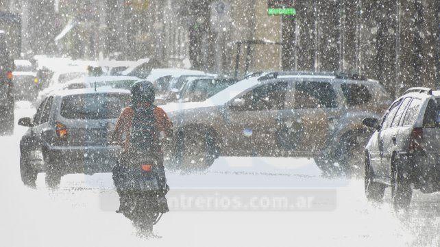 Abundantes precipitaciones y tormentas fuertes en Entre Ríos