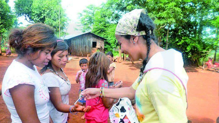 Leonela Moreyra pregona amor y caridad