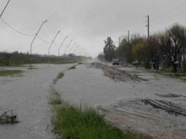 Relevan y atienden la situación de las zonas más afectadas por el temporal