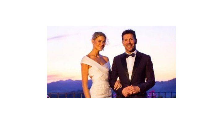 La foto de la boda.