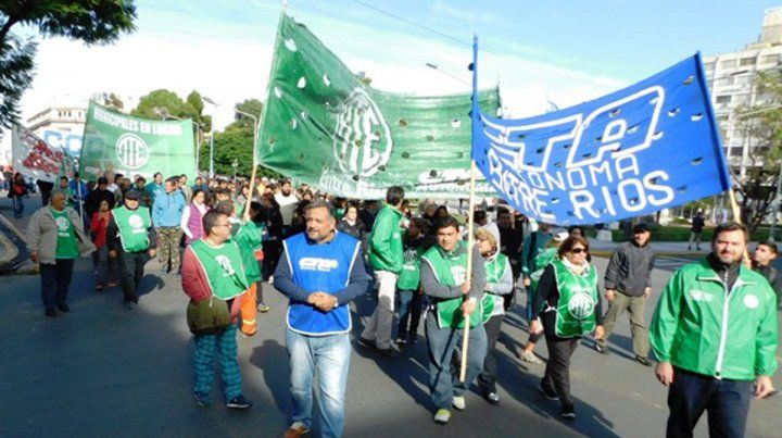 Marcha. El gremio de los estatales elevará demandas dirigidas al municipio y al Gobierno de Mauricio Macri.