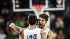 brillante: argentina vencio a serbia y esta en semifinales