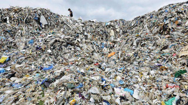 Montañas de basura.
