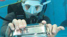 buceadora: silvia castillo busca su esencia en las profundidades