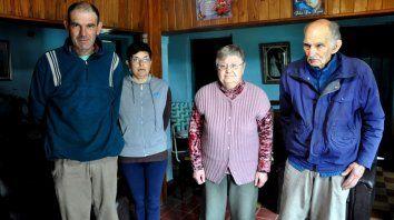 Carlos, Miriam,Marta Isabel y Justo Bernardo.